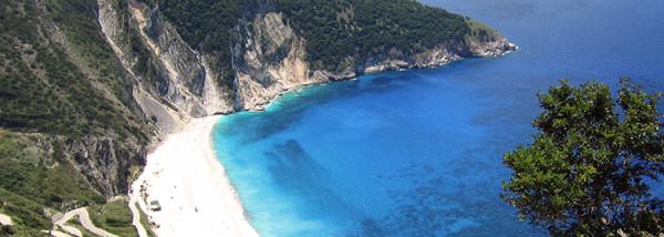 Plaża Myrtos w Kefalinia
