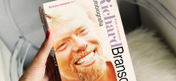 Książka o Richardzie Bransonie