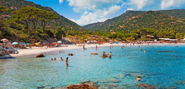 plaża w Corsica