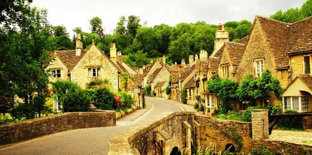 zdjęcia castle combe najpiękniejsza wieś w angli