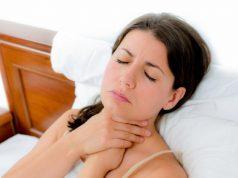 ból gardła