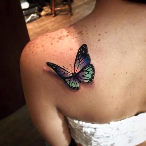tatuaz-motylek-2