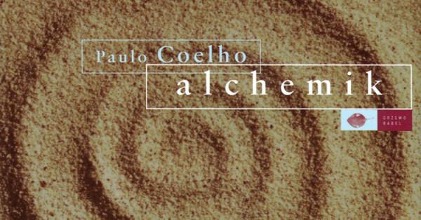 """okładka książki """"Alchemik"""" Paulo Coelho"""