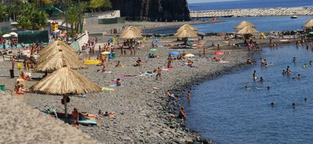 Ribeira Brava madeira beach