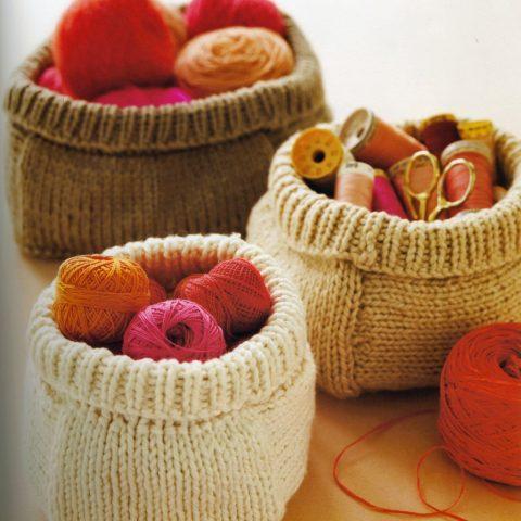 pomysły na pojeminiki i pudełka ze starych swetrów
