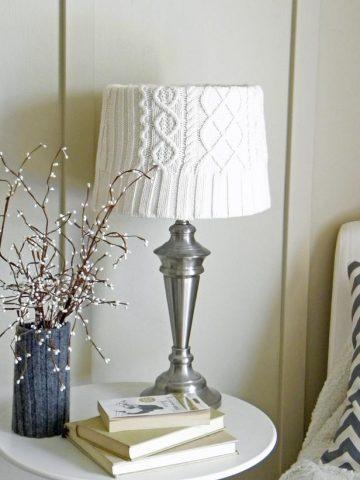 pomysły na wykorzystanie starych rzeczy np lampa