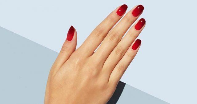 czerwone-paznokcie-ombre-2