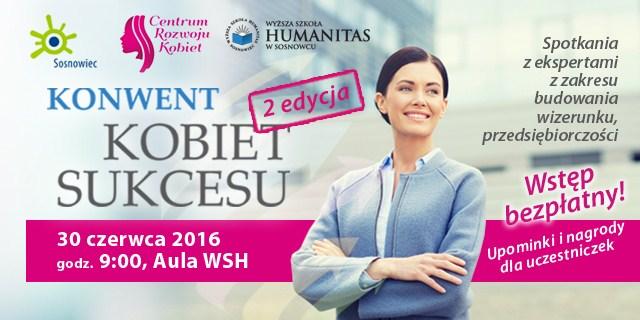 Konwent Kobiet Sukcesu wkrótce w Humanitas