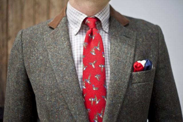 welniany-krawat