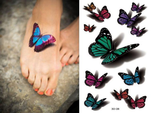 tatuaz-z-motylkiem