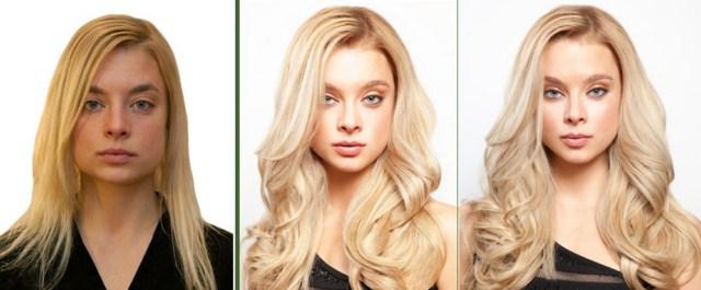 doczepianie-włosów-clip-in-efekty-przed-po
