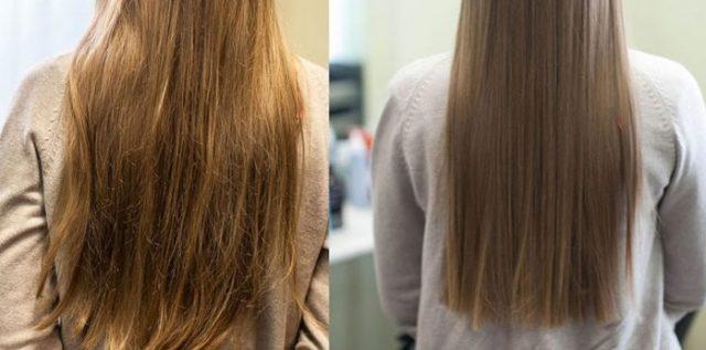 laminowanie-włosów-żelatyną-efekty