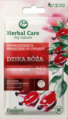roza-farmona-herbal-care-maseczka -w-saszetce