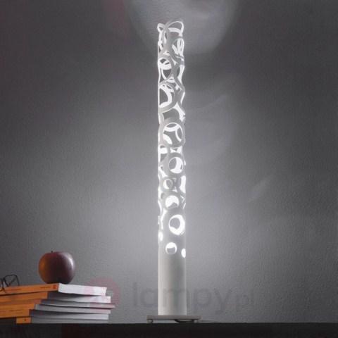 stylowa-lampa-stołowa-biała