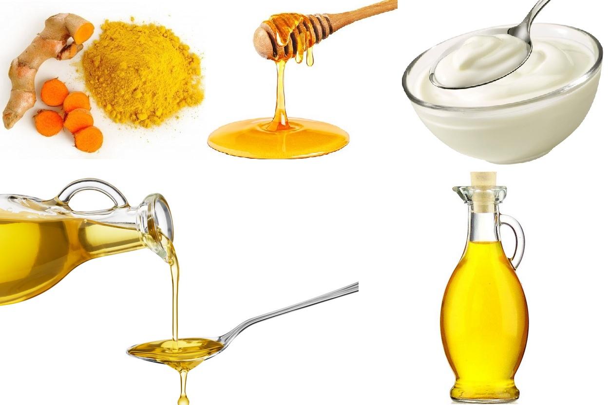 maseczka-z-kurkumy-jogurtu-miodu-olejku-arganowego-migdalowego
