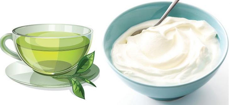 maseczka-z-zielonej-herbaty-jogurtu-naturalnego