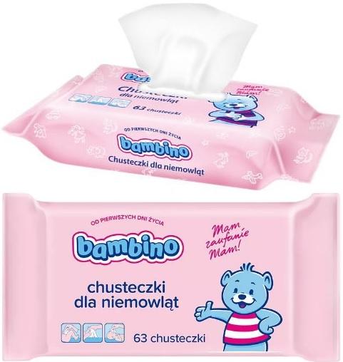 BAMBINO-Chusteczki-Pielęgnacyjne-Dla-Niemowląt