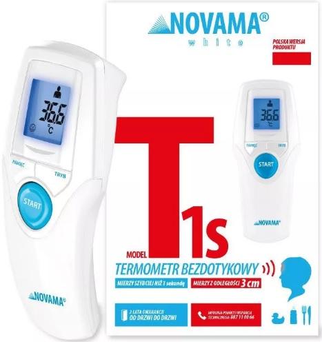 Novama-White-T1s-bezdotykowy