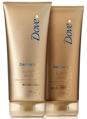 Dove-balsam-brązujący-DermaSpa-Summer-Revived