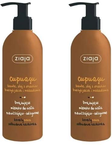 Ziaja-Cupuacu-Brązujące-mleczko-do-ciała-nawilżająco-odżywcze