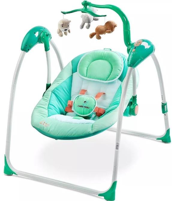 hustawka-dla-niemowlaka-Caretero-Loop-z-czujnikiem-płaczu