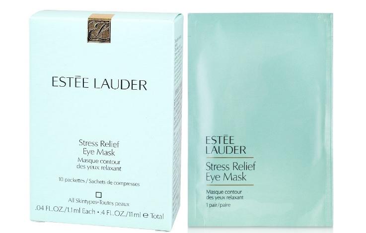 Estée-Lauder-Stress-Relief-Eye-Mask-płatki-pod-oczy-saszetka-i-opakowanie
