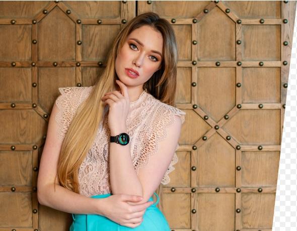 Smartwatch damski Garett Women Lily czarny