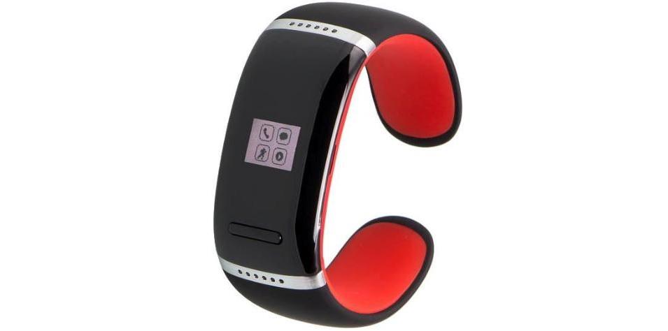 Smartwatch-damski-garret-ione-czerwony