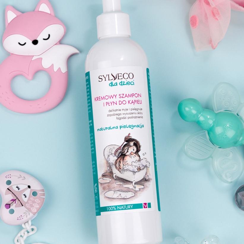 Sylveco-Kremowy-szampon-i-żel-do-kąpieli